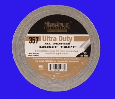 Nashua 357 Duct Tape 48 mm x 55 m sort