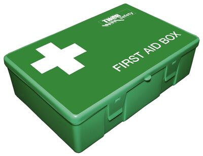 First Aid Box inkl. øjenskyl